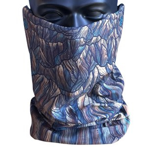 avalon7 hiking neck gaiter by kelly halpin