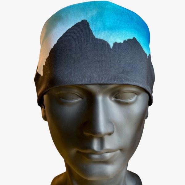 Grand Teton Blue Cooling Headband