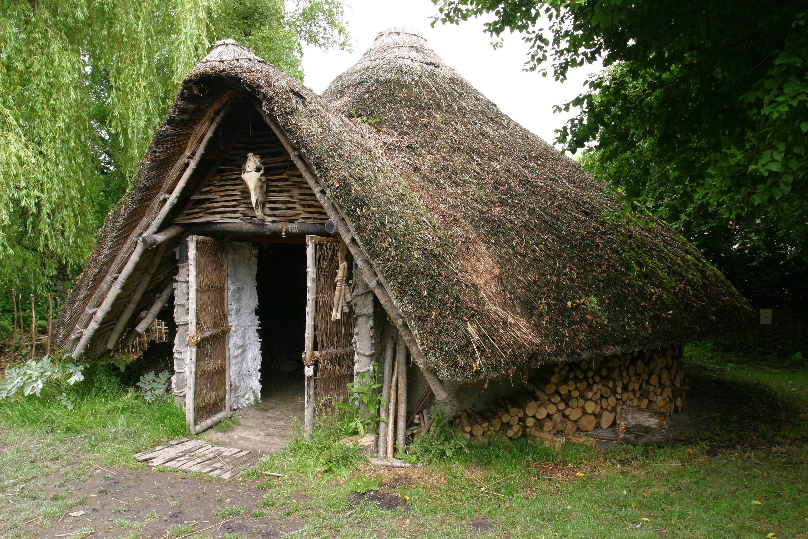 Iron Age House At Westhay