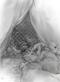 Emily sleeping with Lyra