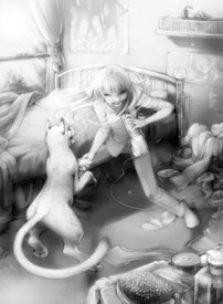 Kara and Lyra hang out