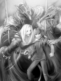 Adriane captured by the Dark Sorceress
