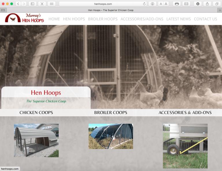 Avalon Web Designs | Professional Website Design & Marketing Services for HenHoops.com