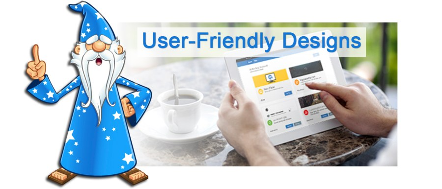 User-Friendly Website Designs