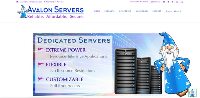 Avalon Web Designs | AvalonServers.com