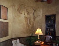 Faux Stone Wall Painting Techniques
