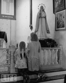 Mission Chapel - San Juan Capistrano, 1945