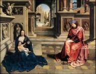 St Luke Drawing the Virgin GOSSART, Jan c. 1515