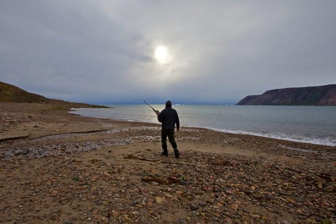 In the Polar Bear Country. Neqip Akia. Greenland. Photo © Galya Morrell