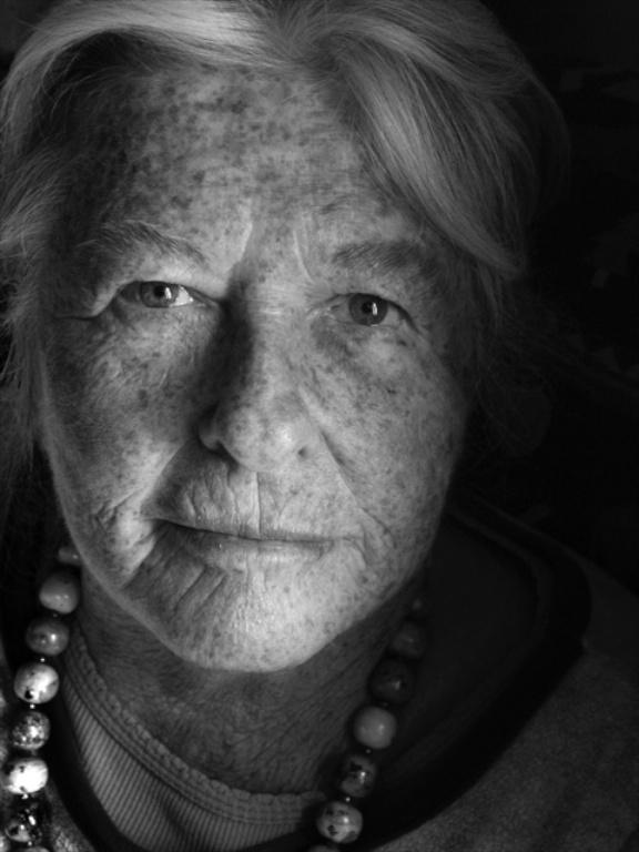 Judith Varney Burch. Collector, educator, Inuit Art Specialist. Photo: courtesy Judith Varney Burch Archive.