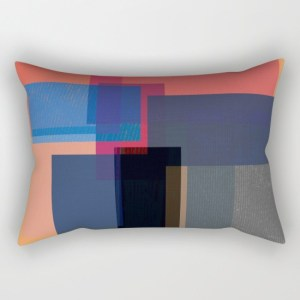 when the walls fall - rectangle pillow