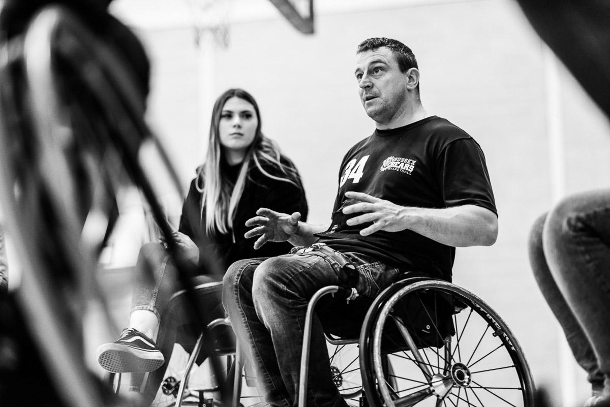 Avant Commercial wheelchair basketball - the Sissex Bears