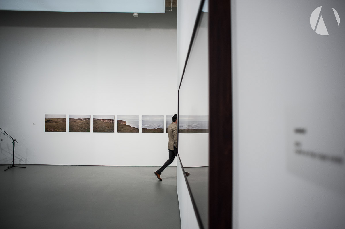 Photo inside the Towner art gallery Eastbourne by Avantphoto Phil Burrowes