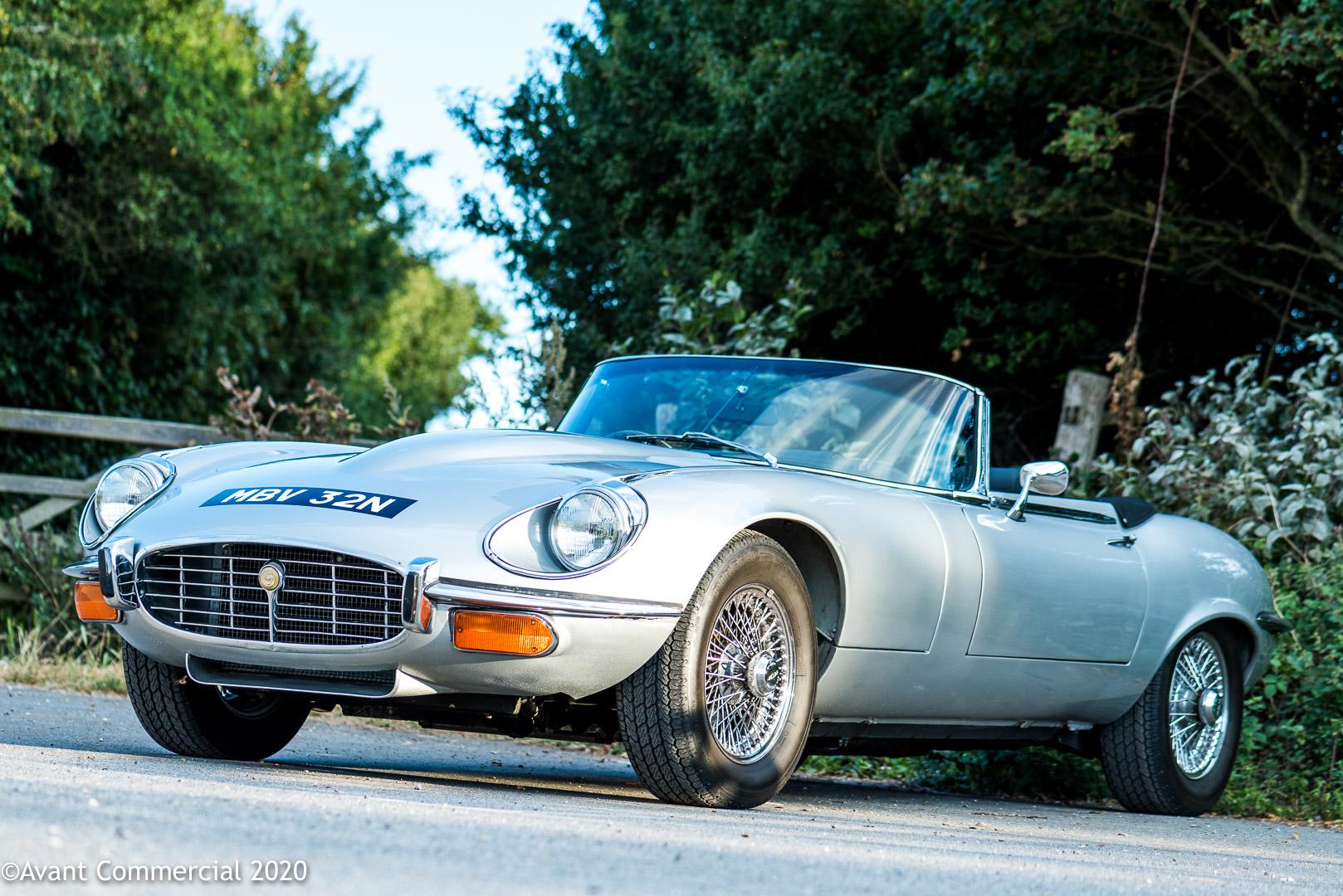 Jaguar v12 E-Type