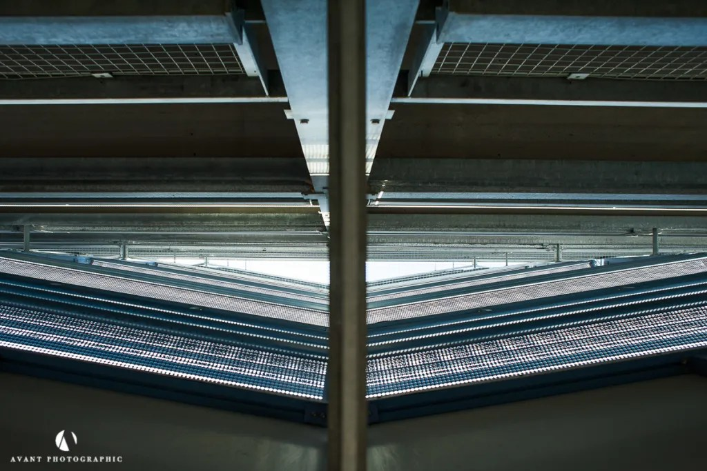 NCP. architectural photography, Phil Burrowes, Avant Photographic, Car Parks, Beauty of Car Parks, architecture photographer, construction photographer, UK photographer, London photographer,