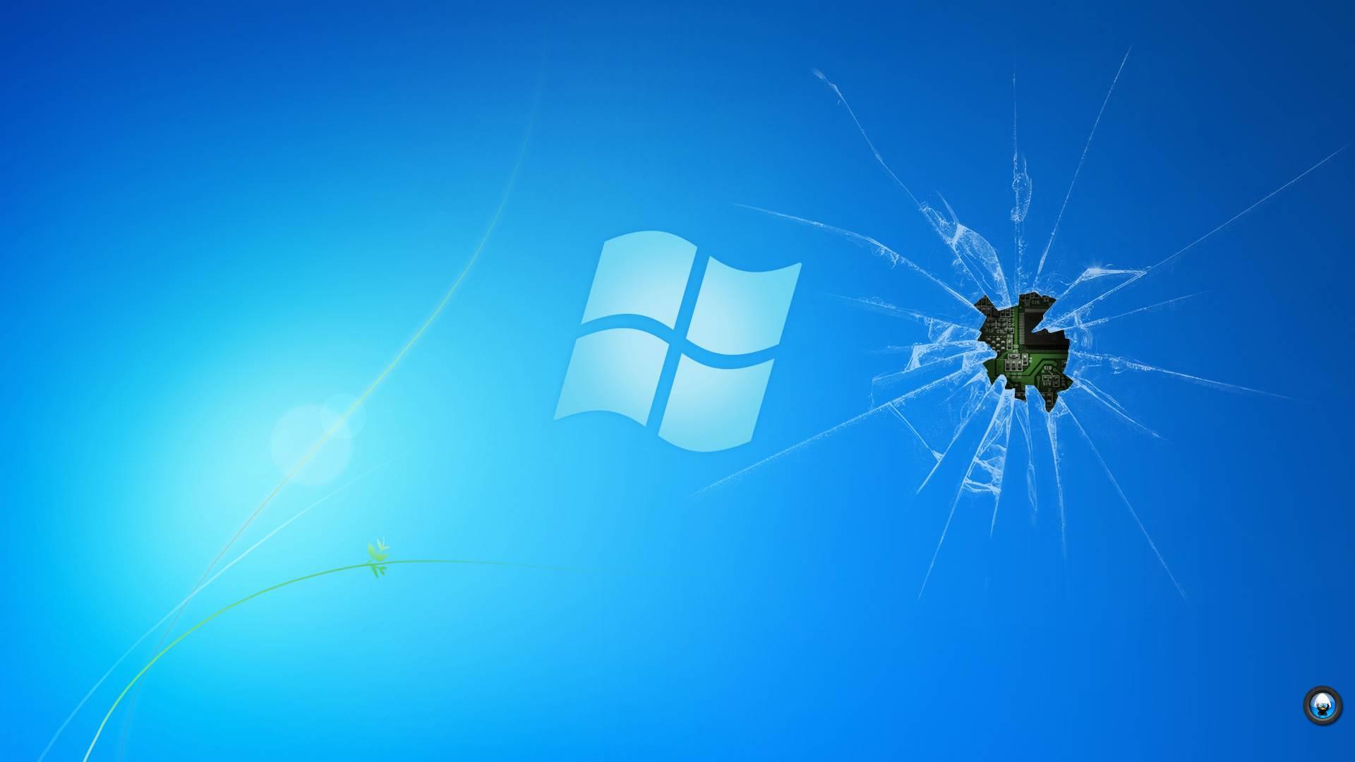 Zendha Broken Screen Wallpaper Windows