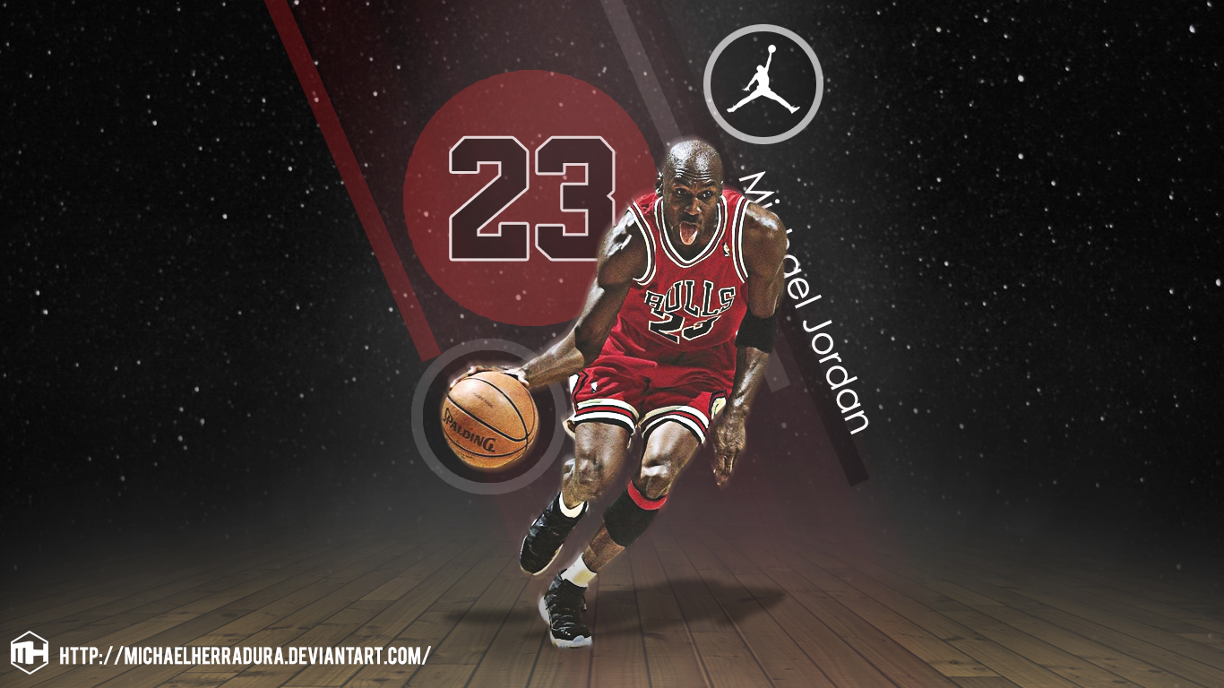Wallpaper Hd 2017 Michael Jordan Hd Wallpapers Backgrounds Wallpaper 1366x768