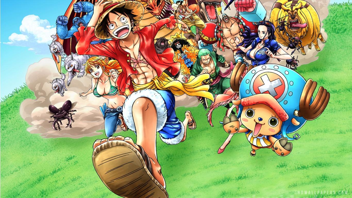 Best of One Piece Wallpaper 4k 1366x768 - wallpaper