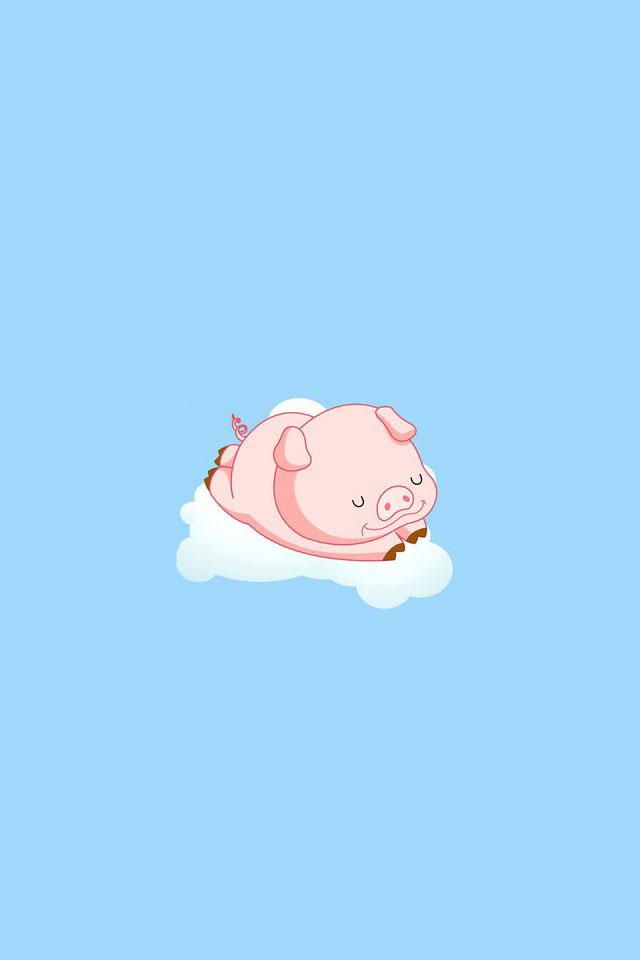 Phone Wallpapers Cute Pig Doeloe1st Org