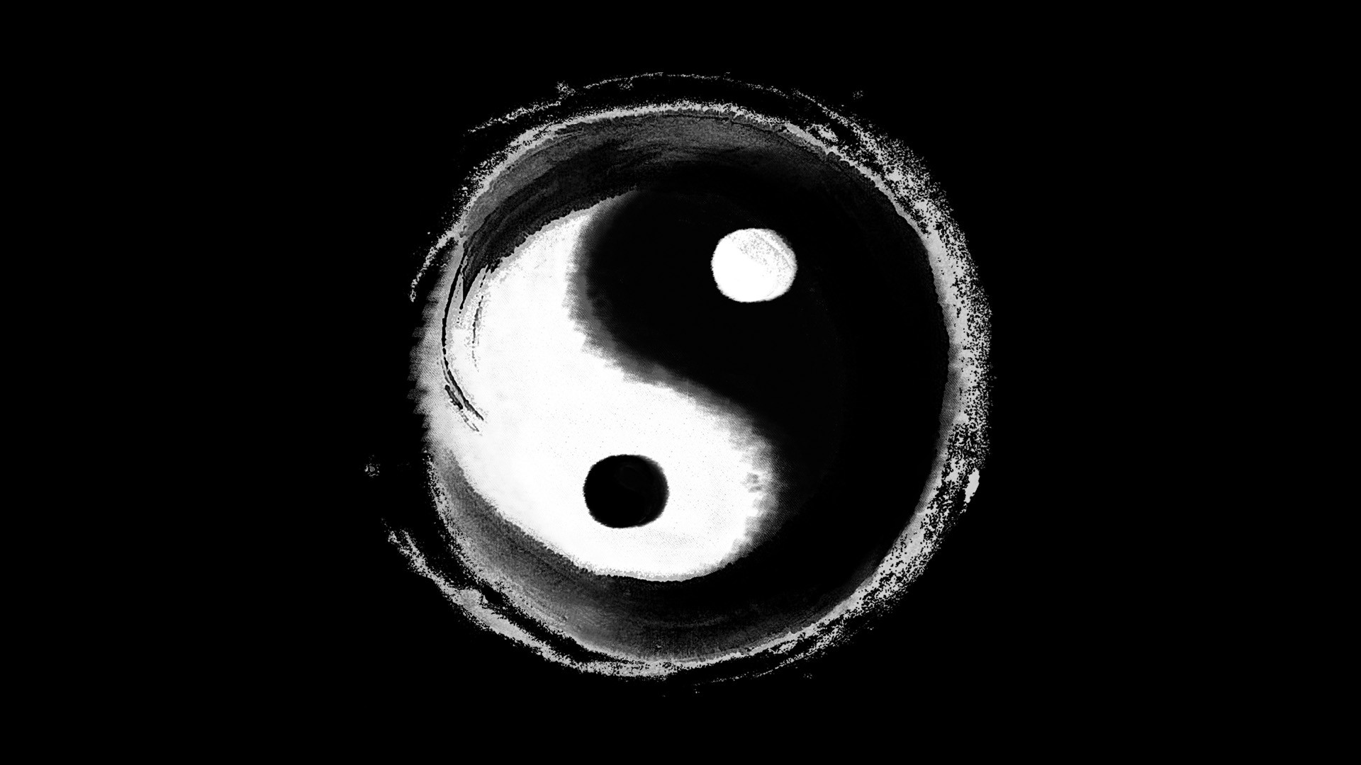 Yin Yang Wallpaper Dragon