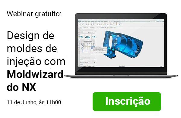 Webinar gratuito: design de moldes de injeção com Moldwizard do NX