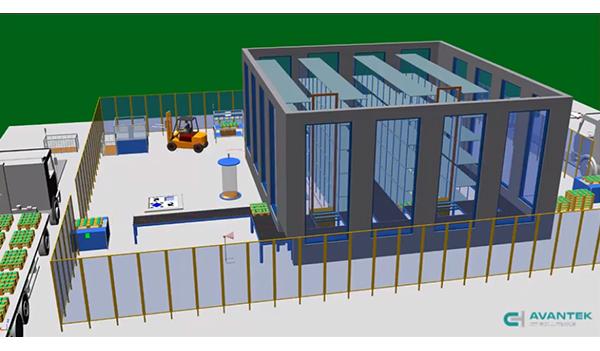 Simulación de un almacén con Tecnomatix Plant
