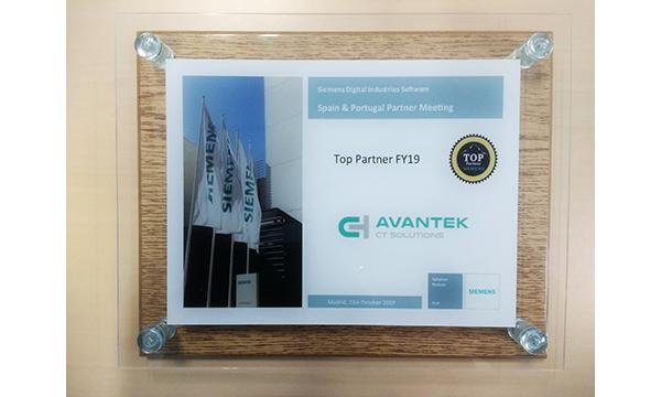 ¡Avantek es Top Partner 2019 de Siemens: distribuidor que más ha vendido del año!