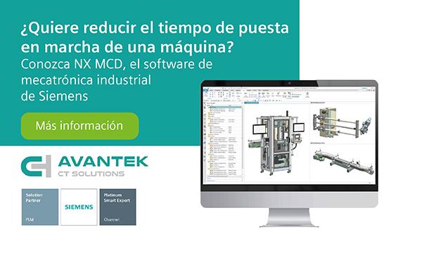 ¿Quiere reducir el tiempo de puesta en marcha de una máquina? Conozca el software de mecatrónica industrial de Siemens