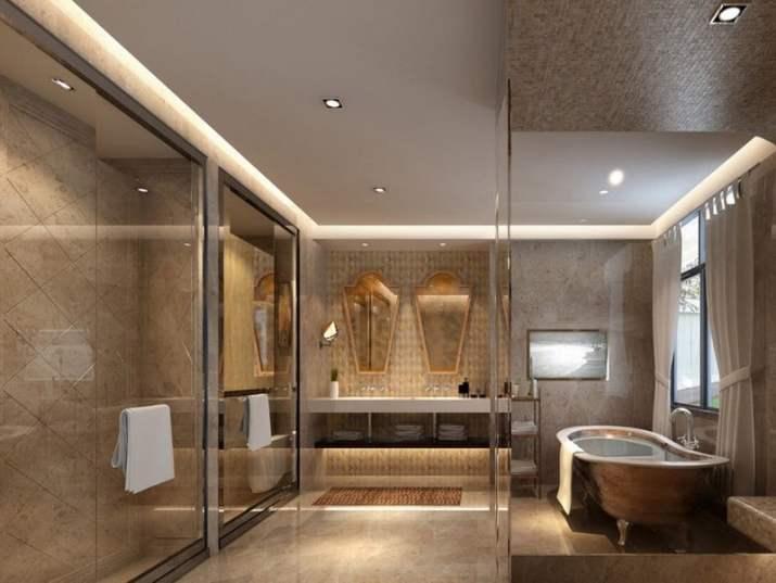 Gypsum Bathroom Ceiling