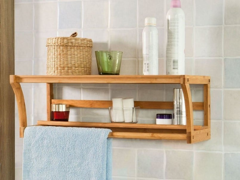 35 Bathroom Shelf Ideas 2020 (for Savvy Storage) 1