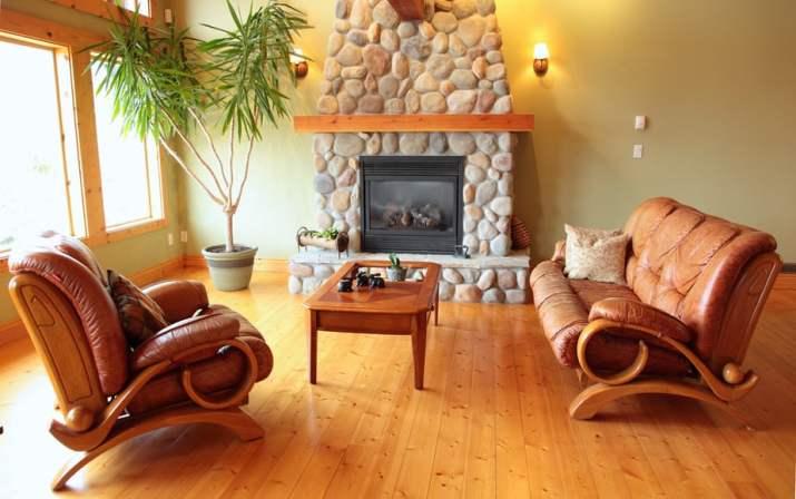 Coastal Rustic Living Room