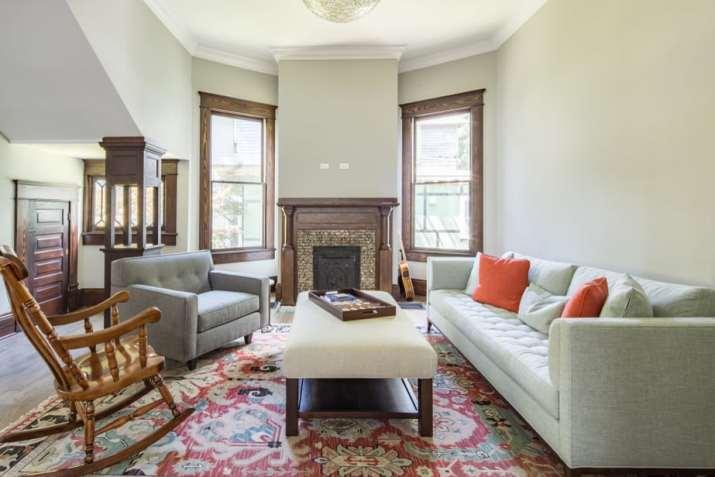 Farmhouse Grey Living Room