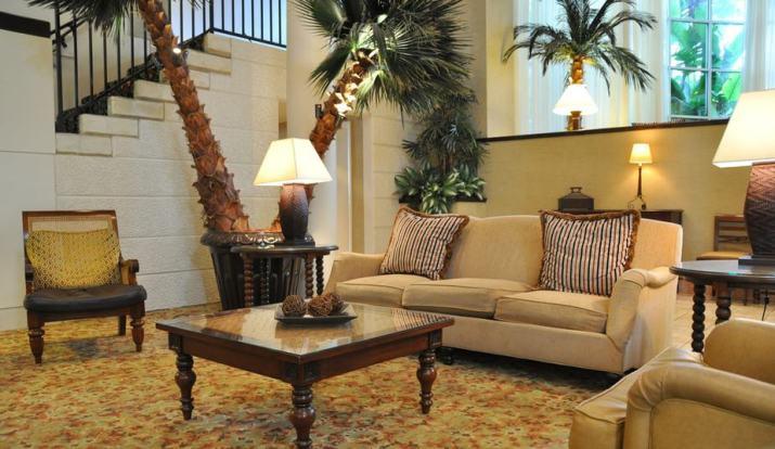 Shady Formal Living Room