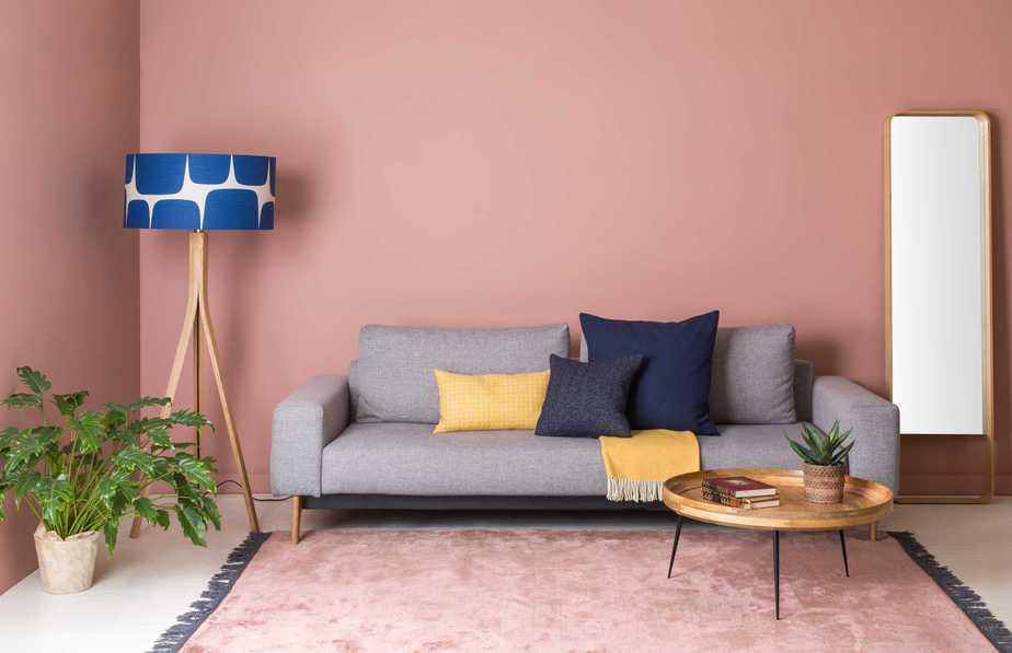 Pastel Living Room. Source: