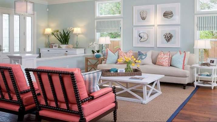 Alluring Coastal Living Room. Source: YouTube.com