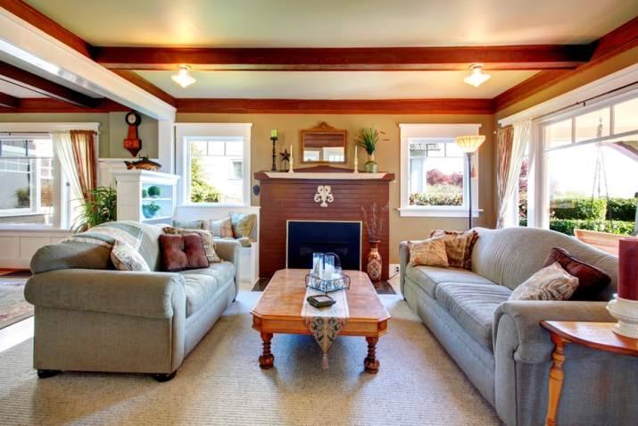 Typical Open Living Room Ideas in Neighborhood