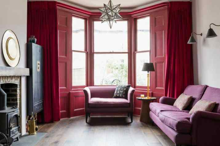 Harmonize Curtain and Window Colors