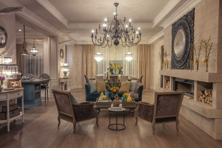 Deluxe Living Room Dining Room Combo