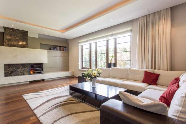 L-Shaped Large Living Room