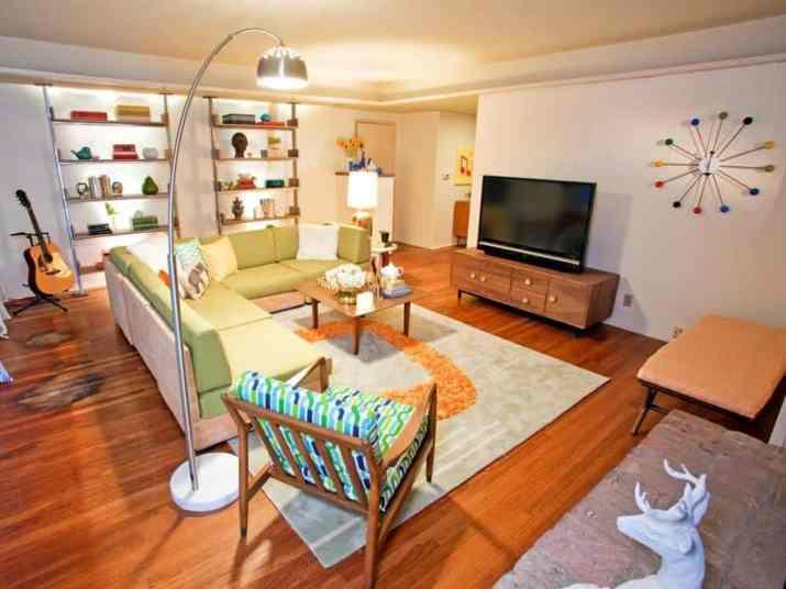 Assorted Living Room Arrangement.