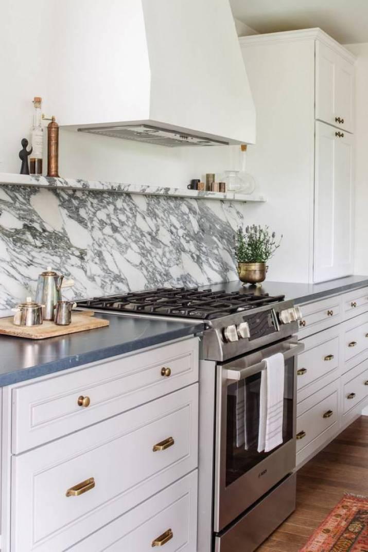 Abstract, Marble Kitchen Backsplash