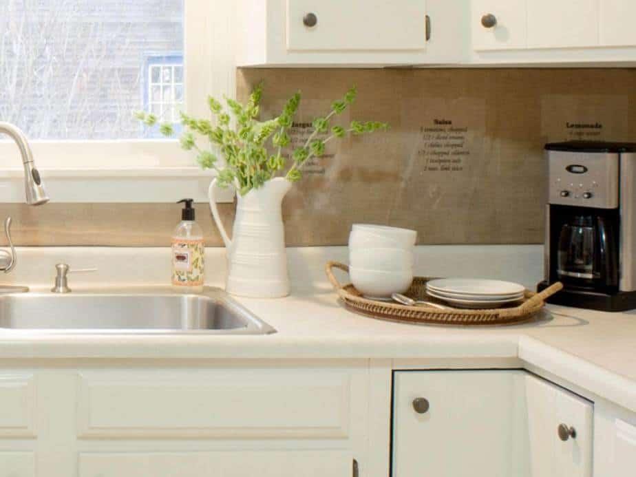 Affordable, Brown Kitchen Backsplash