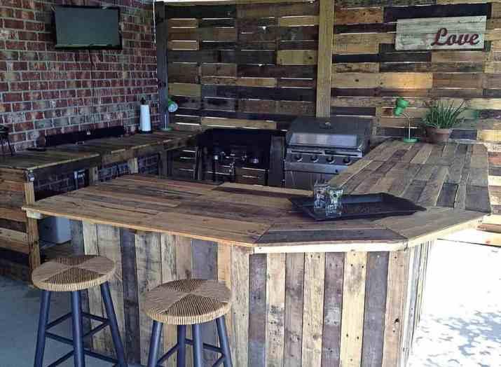 Coffee Bar DIY Outdoor Kitchen