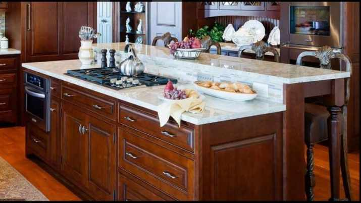 Smart Kitchen Island with Cooktop