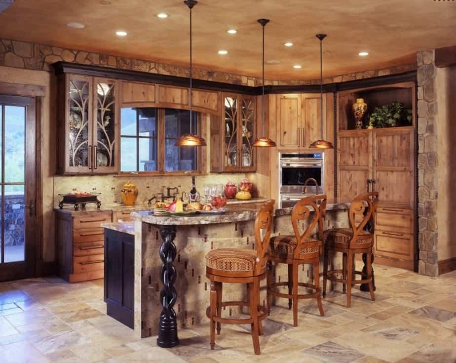 Extravagant Kitchen Coffee Bar