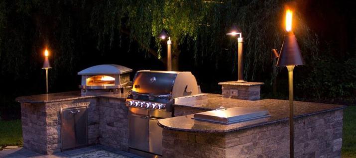 Fair Outdoor Kitchen Lighting