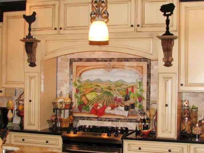 Beautiful, Brown Kitchen Backsplash