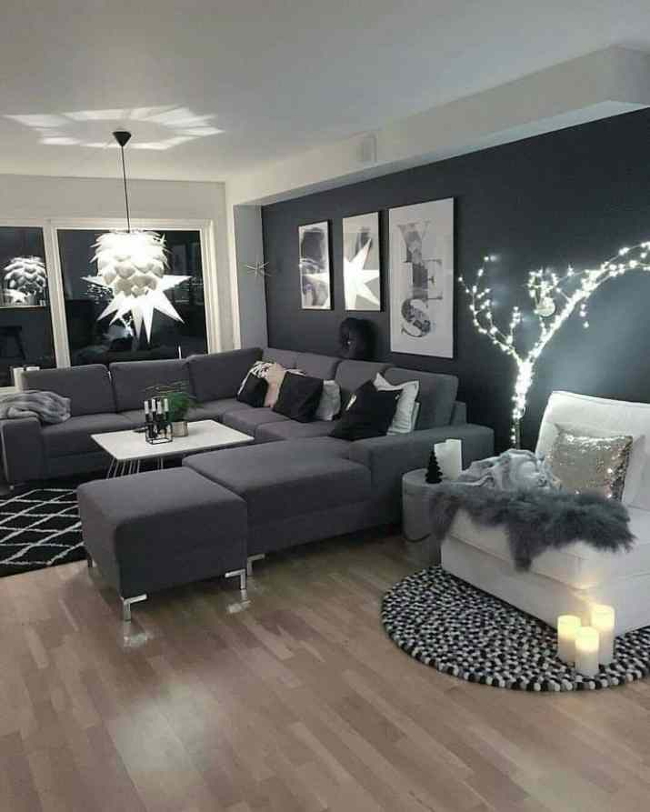 Sparkling Grey Living Room