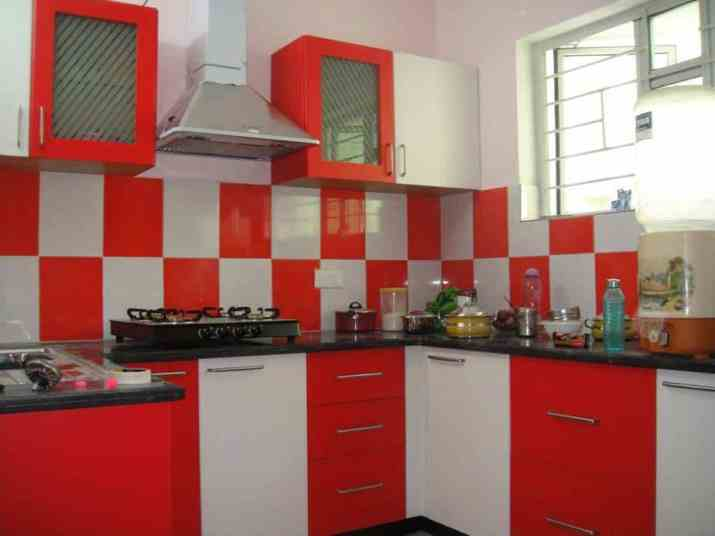 Popular Two Toned Kitchen Cabinet