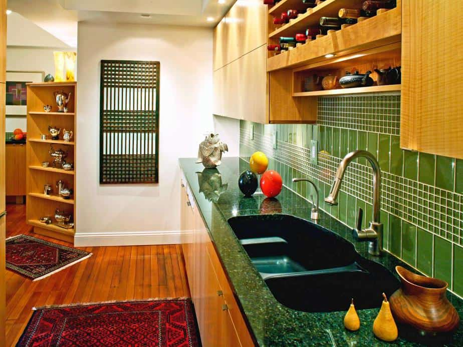 Colored Kitchen Sink